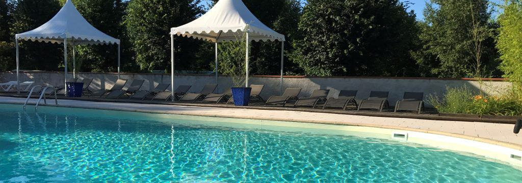 piscine exterieur chauffée pataugeoire enfants