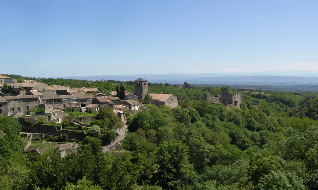 chateau fortification montagne noire