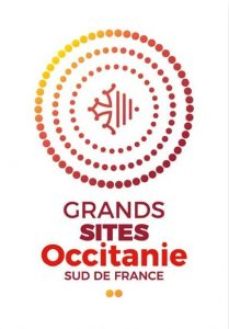 Logo Grands sites Occitanie Sud de France