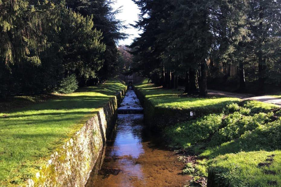 cours d'eau de La rigole à la voute vauban