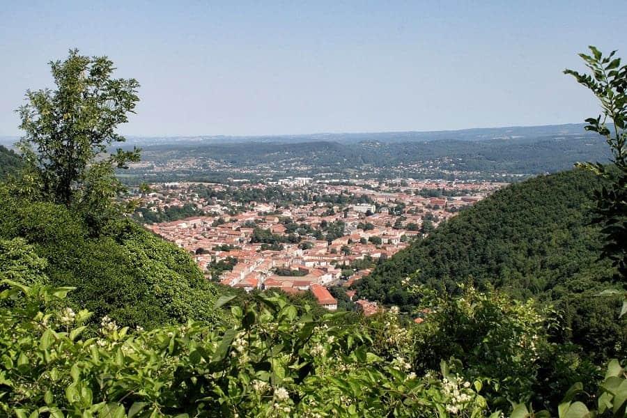 Panorama Mazamet Tarn