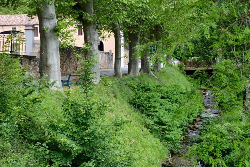 Rivière Sor village Tarn
