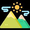 icone montagne noire