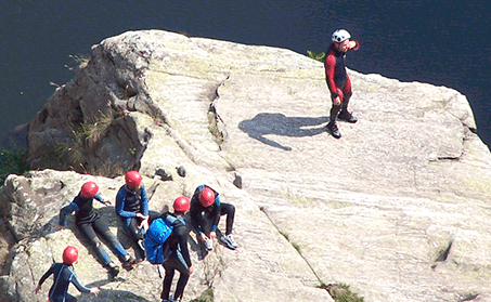 Canyoning dans le Tarn