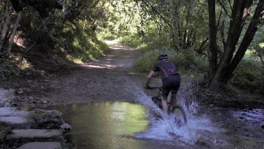 Cyclotourisme dans la montagne Noire, Tarn